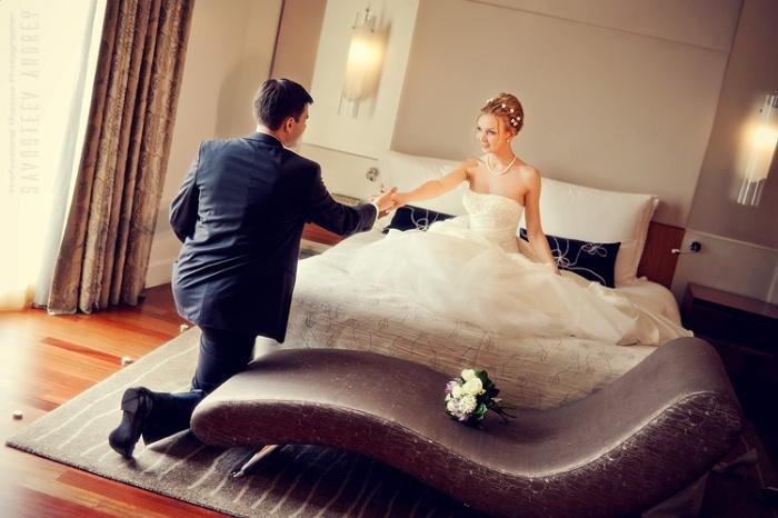 Свадебные сборы в отеле
