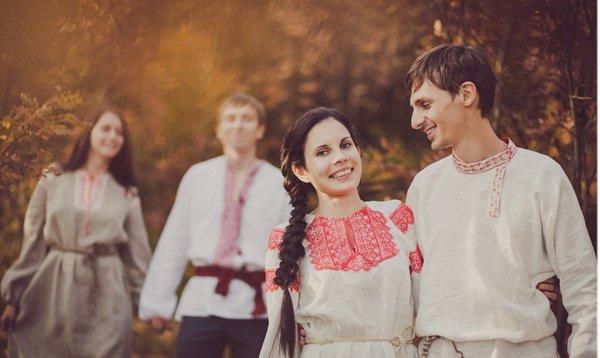 Русские народные свадебные традиции