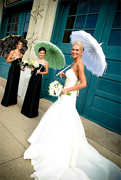 Зонтик от солнца на свадьбу