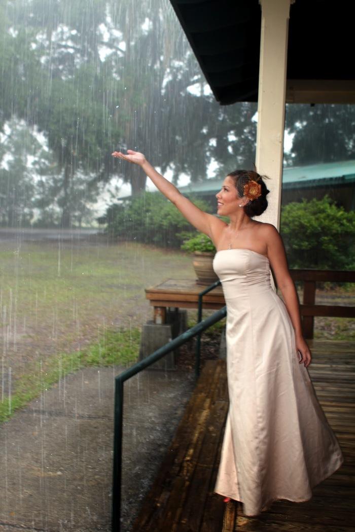 Что делать если дождь на свадьбу