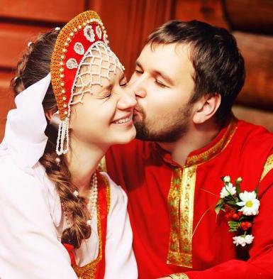 Русские-народные свадебные гуляния