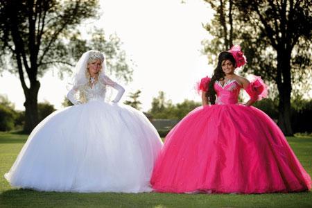 Цыганское свадебное платье