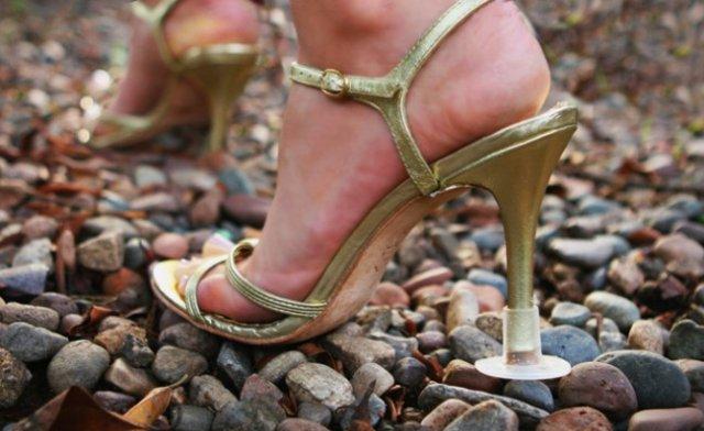Насадки на туфли для пляжной свадьбы