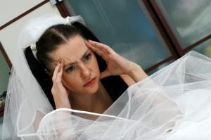 Плохое самочувствие перед свадьбой