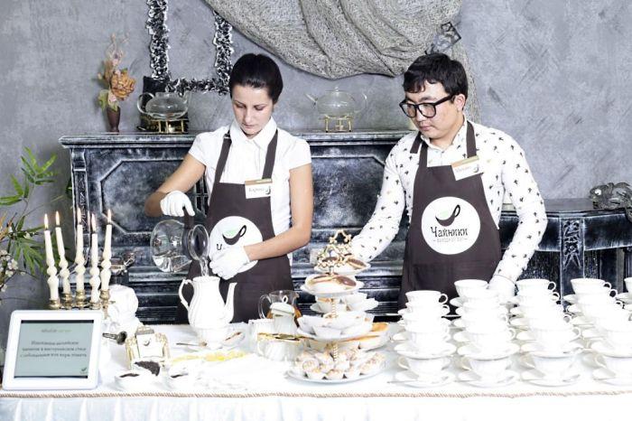 Чайные мастера на свадьбу