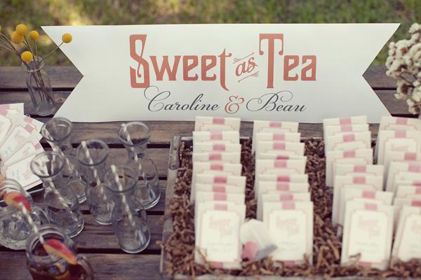 Чай на свадьбе