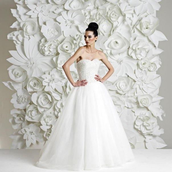 Декбор на свадьбу из бумаги