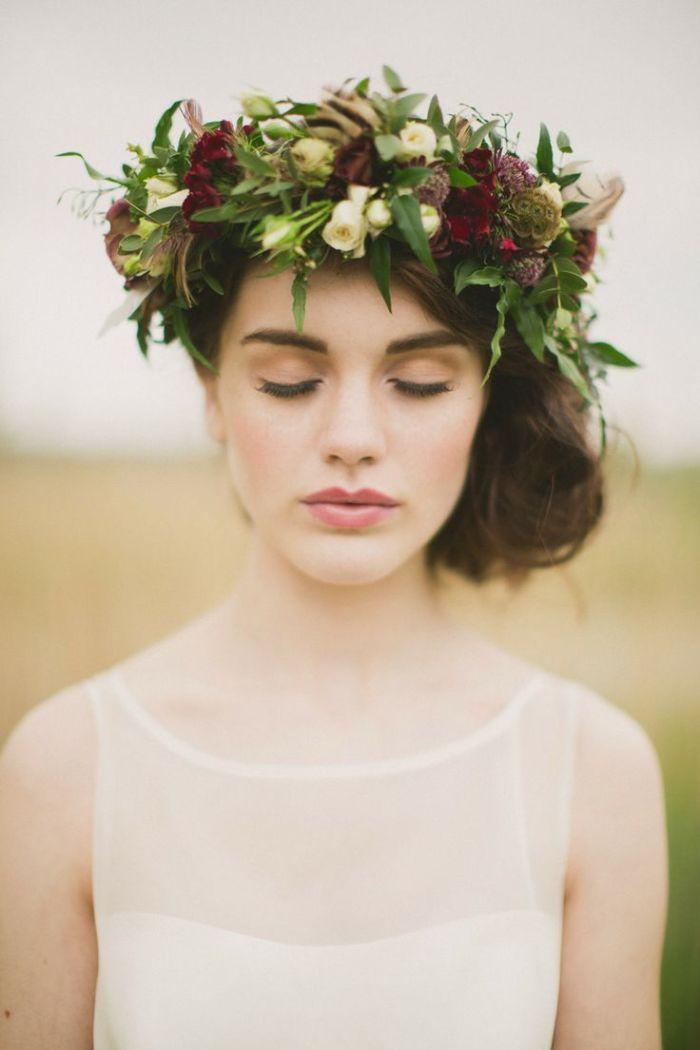Стиль невесты с венком