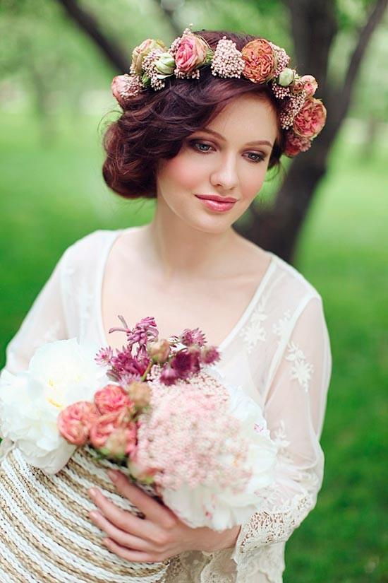 Венок для образа невесты