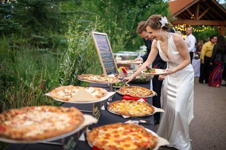 фуршет на свадьбе