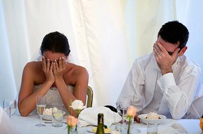 неприятности на свадьбе