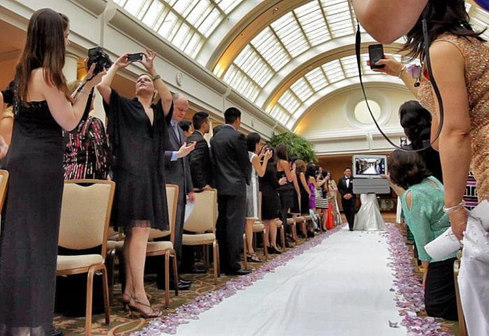 Оффлайн свадьба