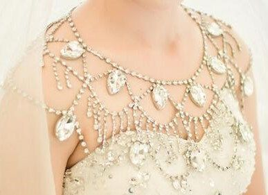 Ожереллье на плечи на свадьбу