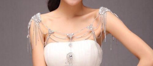 Свадебное украшение на плечи