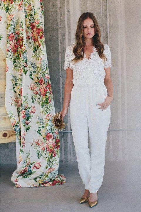 Невеста в брюках