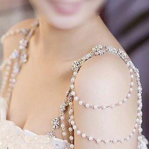 Ожерелье для невесты на плечи