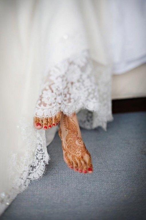 Менди на свадьбу
