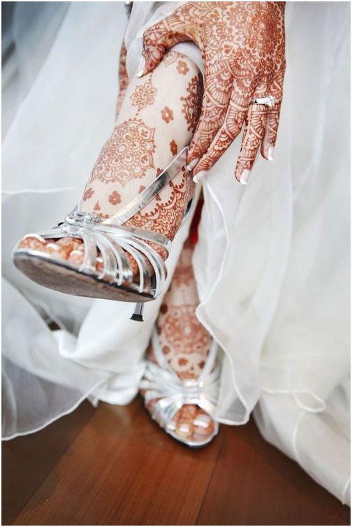 Украшение тела невесты