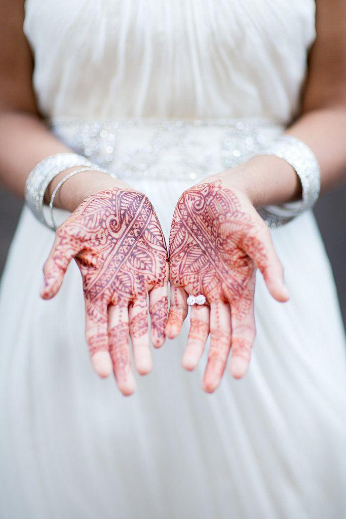 Свадебные узоры хной