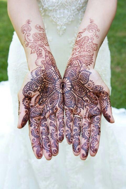 Роспись хной на свадьбу