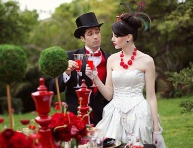 Организуем тематическую свадьбу