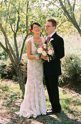 Линзы или очки на свадьбу