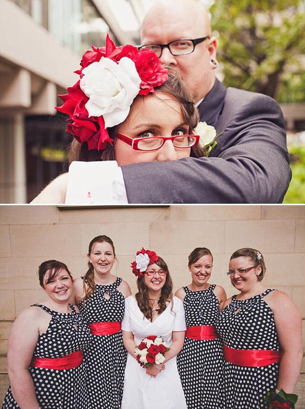 Очки на свадьбе