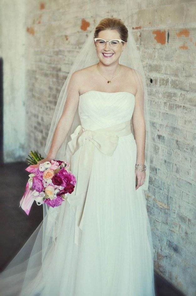 Невеста очкарик