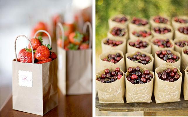 Бонбоньерка с ягодами