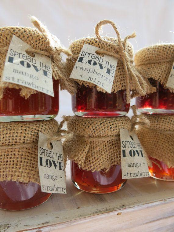 Баночки с медом на свадьбу