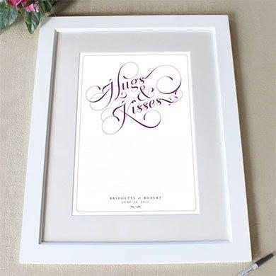 Свадебный сертификат для гостей