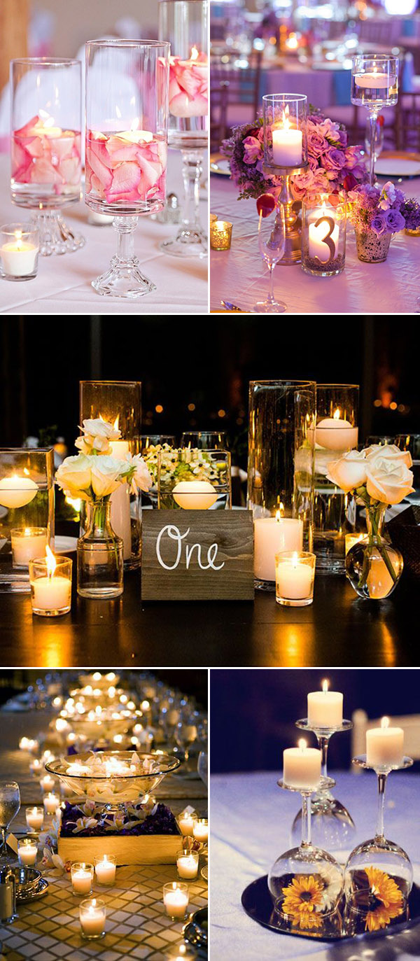 creative-diy-wedding-centerpieces-with-candles